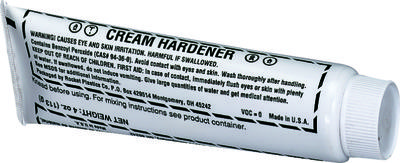Cream Hardener, 2.75 oz.  Blue