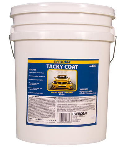 Tacky Coat, 5-Gallon Tracer White