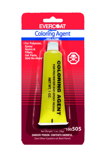 Color Agent, Yellow 1 oz.