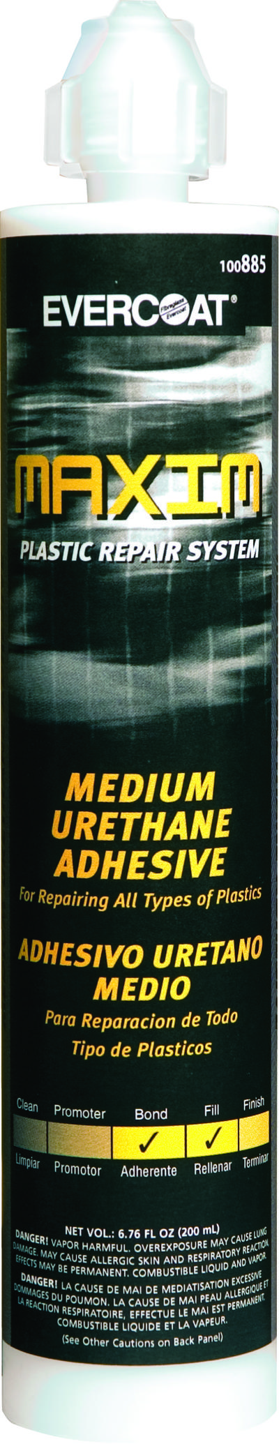 Maxim Plastic Repair System Urethane Medium