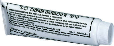 Cream Hardener, 1 oz.  Blue