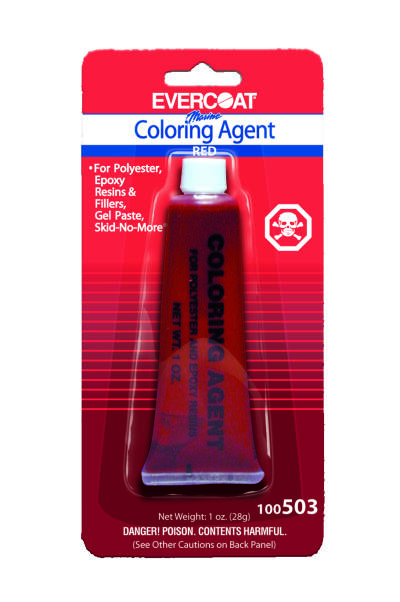 Color Agent, Red 1 oz.