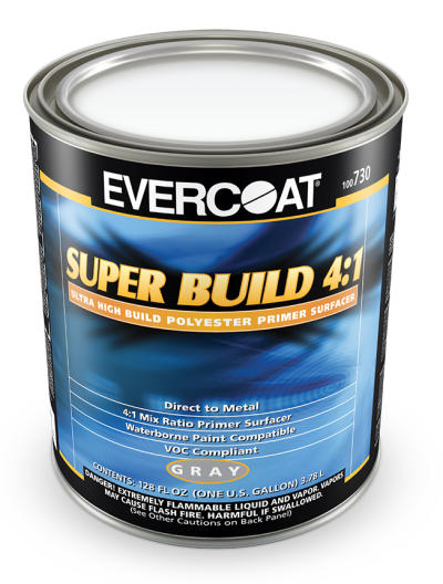 Super Build 4:1 Polyester Primer Surfacer, Gallon