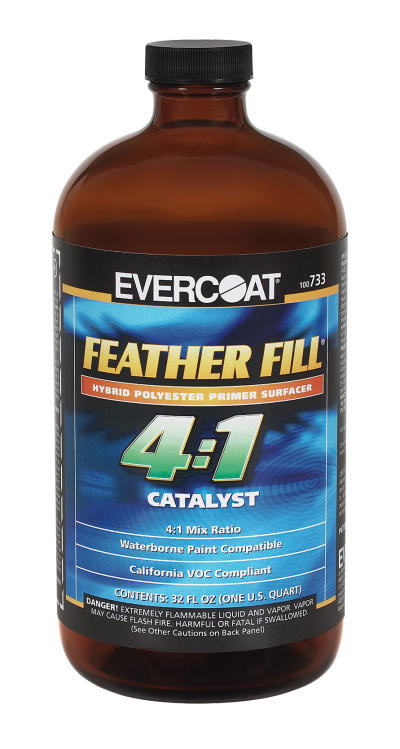4:1 Polyester Primer Catalyst, Quart
