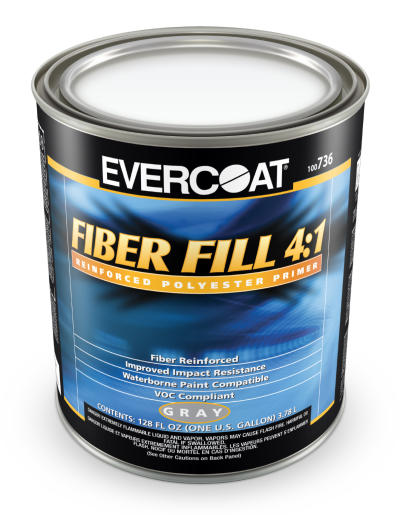 Fiber Fill 4:1 Polyester Primer Surfacer, Gallon