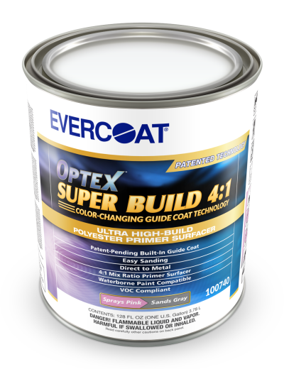 Optex™ Super Build 4:1 Polyester Primer Surfacer, Gallon