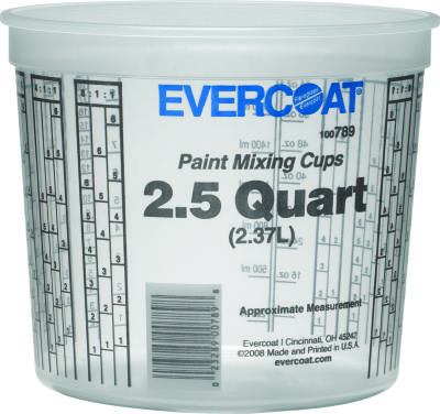 2.5 Quart Paint Mixing Cup