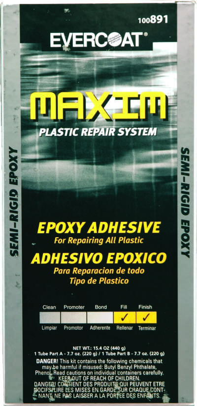 Maxim Plastic Repair System Semi Rigid